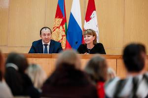 Илья Гузев и Татьяна Сергиенко ©Фото пресс-службы Сбербанка