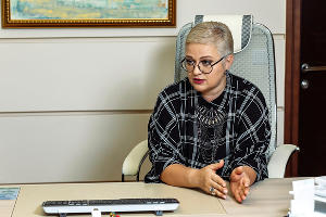Ирина Ткаченко, зампредседателя Юго-Западного банка Сбербанка ©Фото пресс-службы Юго-Западного банка Сбербанка